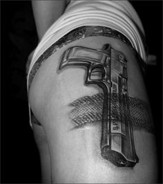 Pistol Tattoo