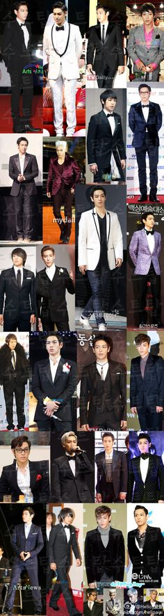 TOP always looks good in suits. :) Look at all these TOP's!!!!