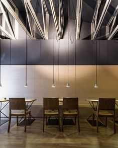 WOOD VS METAL: ORIGO COFFEE SHOP DESIGN • DESIGN. / VISUAL.