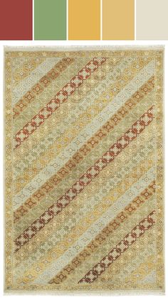 Park Lane in sage Designed By Capel Rugs via Stylyze
