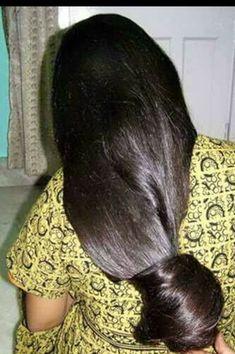 it is indianrapunzels Long Silky Hair, Long Dark Hair, Super Long Hair, Big Hair, Bun Hairstyles For Long Hair, Braids For Long Hair, Indian Hairstyles, Beautiful Long Hair, Gorgeous Hair