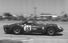 https://flic.kr/p/87Asif | Graham Hill's Ferrari 330 TRI/LM at Sebring 1963 | Pedro Rodriguez and Graham Hill (seen driving) drove this North American Racing Team Ferrari 330 TRI/LM to a third place finish but 1st in class at the 1963 12-Hours of Sebring.   Photo by Dave Nicholas.