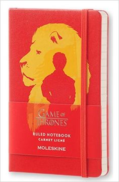 Moleskine Game of Thrones Limited Edition Notebook, Pocket, Ruled, Black, Hard Cover (3.5 x 5.5): Moleskine: 8051272893076: Amazon.com: Books