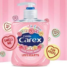 Get free stuff, freebies and samples online today. Updated everyday with Free Stuff, Free Samples, Free Competitions and UK Freebies. Updated daily with the Latest Free Stuff. | Cussons have a fabulous giveaway. They have 500 Personalised bottles of Carex handwash to give away in this FREE to enter competition. Not only that; its t