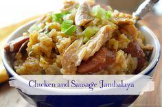 Chicken and Smoked Sausage Jambalaya~My Invisible Crown