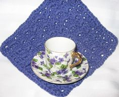 Foothills of the Great Smoky Mountains: Sweet Violet Cloth *