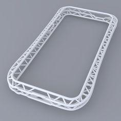 iPhone 5 Bumper printed by 3D printer