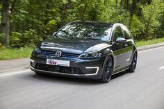 """Plug-in-Hybrid trifft auf """"Plug-in-Fahrspaß"""": KW Gewindefahrwerke für VW Golf 7 GTE erhältlich"""