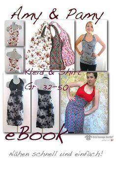 Amy&Pamy♥+Shirt+Kleid+EBOOK+Nähanleitung+Schnitt+von+Grüezi+auf+DaWanda.com