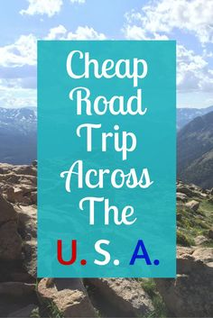 A road trip doesn't have to be expensive. Check out how we made a road trip across the U.S.A on a budget! Don't forget to save this for later!