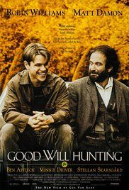 Good Will Hunting Poster 1997 Robin Williams played Sean Maguire