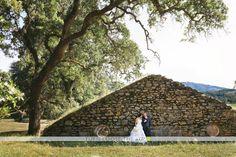 Bride & Groom at Dunfillan Ruins - Turn Loose the Art Photography #kundefamilyestate #sonomavalley #weddings