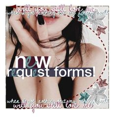 """New Request Forms!"" by lolmina02 ❤ liked on Polyvore featuring art and newrequestsformina"
