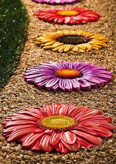 Floral Garden Stone Set ♥