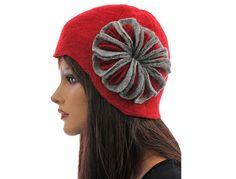Artsy boho womens winter hat cap woolen hat cap by classydress