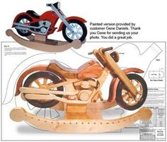 Motorcycle Woodwork Plans