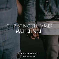 Du bist noch immer was ich will. Prinz Pi - VISUAL STATEMENTS® Visual Statements®️️️ You are still what I want. Prince Pi Sayings / Quotes / Quotes / Verswand / Music / Band / Artist / Profound / Think / Life / Attitude / Motivation Osho, Motivational Quotes, Inspirational Quotes, Visual Statements, Thats The Way, Song Quotes, True Words, Wallpaper Quotes, Just Love