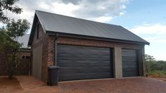 Garage Doors, Shed, Outdoor Structures, Outdoor Decor, House, Home Decor, Lean To Shed, Decoration Home, Haus