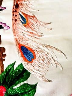 Recently I was given a rare opportunity to have a close look at the most exquisite Korean embroidery. My friend (and embroidery buddy) Yumi ...