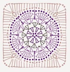 Crochet knitting patterns – twitch - My CMS Mandala Au Crochet, Crochet Shawl Diagram, Poncho Au Crochet, Crochet Motif Patterns, Crochet Chart, Knitting Patterns, Diy Crochet, Tutorial Crochet, Shawl Patterns