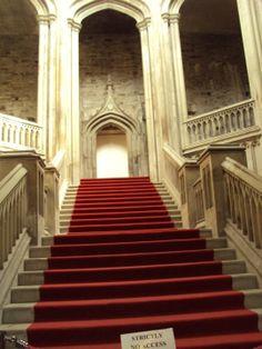 stairway,Margam Hall