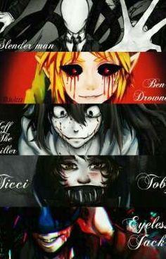 Creepypasta x Reader Creepypasta Quotes, Creepypasta Wallpaper, Creepypasta Slenderman, Jeff The Killer, Familia Creepy Pasta, Creepy Pasta Family, Tv Anime, Anime Plus, Slender Man