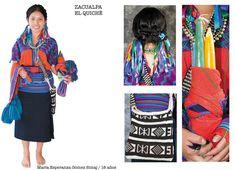 Traje típico Zacualpa, El Quiché