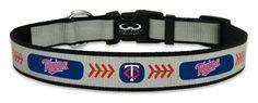 Minnesota Twins Reflective Large Baseball Collar