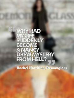 Demonglass (Hex Hall #2) by Rachel Hawkins