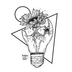 Pin by kylee vigus on // art inspo // Pencil Art Drawings, Art Drawings Sketches, Cute Drawings, Tattoo Drawings, Flower Drawings, Broken Drawings, Tumblr Sketches, Tumblr Art, Cool Rose Drawings