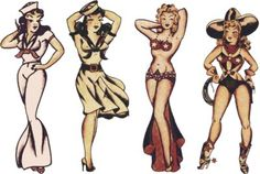 Sailor Jerry Cosplay Girls, Sailor Jerry, T Shirt Design, Rockabilly, Psychobilly, Vulture Graffix, Tattoo Design http://vulturegraffix.onlineshirtstores.com/