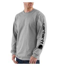 Carhartt - Product - Long-Sleeve Graphic Logo T-Shirt