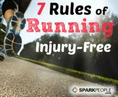 A Runner's Guide to Injury Prevention: This is especially useful for anyone starting out on a running plan! | via @SparkPeople