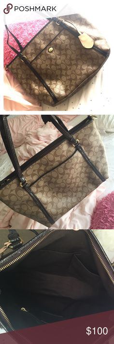 Coach tote make offers! Coach tote Coach Bags Totes