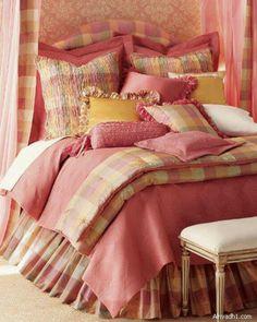 Pink bed room set