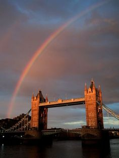 Rainbow Over Tower Bridge - London, England / Photograph by Vinay Kumar Venkatesh