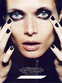 Miss Freja: Małgosia Bela for Vogue Paris, August 2008