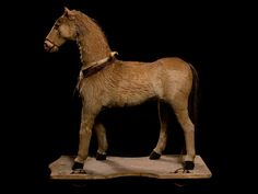 19th Century Victorian Horse Pull Toy