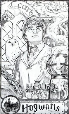 Harry Potter pinup by AdrianaMelo on DeviantArt - Moyiki Sites Harry Potter Sketch, Harry Potter Planner, Harry Potter Disney, Harry Potter Printables, Harry Potter Anime, Harry Potter Colors, Harry Potter Artwork, Harry Potter Drawings, Harry Potter Decor