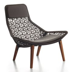 Maia Rope chair by Patricia Urquiola for Kettal | outdoor lounge side chairs