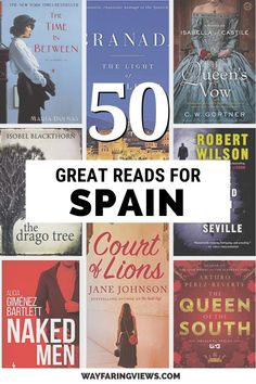 Your epic reading list for books set in Spain. Explore your curiosity or get inspired to visit with these fiction and nonfiction books on Spain. Best Travel Books, Literary Travel, Reading Lists, Book Lists, Good Books, Books To Read, Fiction And Nonfiction, World Of Books, Reading Challenge
