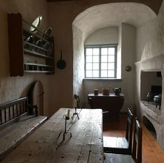 Medieval kitchen in the Castle of Turku, Finland