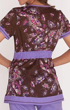 Scrubs - Koi Cotton In Flight Rylee Scrub Top Nursing Uniforms, Medical Uniforms, Work Uniforms, Uniform Advantage, Healing Hands, Nurse Life, Scrub Tops, Suit Fashion, Work Attire