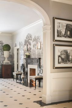 Neoclassical Greenwich Estate By Rinfret Limited Interior Design images ideas from Home Inteior Ideas Elegant Home Decor, Elegant Homes, Archways In Homes, Neoclassical Interior Design, Federal Style House, Interior Design Images, Unique House Design, Classic Interior, Home Decor Styles