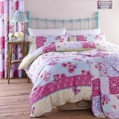 Gypsy Floral Pink Bedding