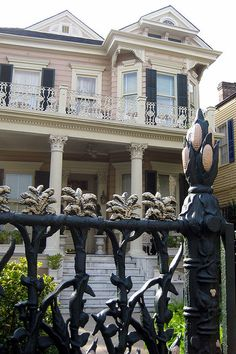 The Cornstalk Hotel, located on Royal Street in the French Quarter of New Orleans