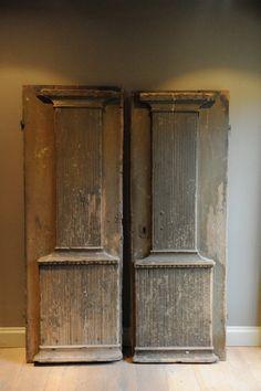 Antique doors....love them!