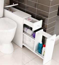Small Bathroom Storage, Bathroom Design Small, Bathroom Interior Design, Interior Ideas, Bath Design, Bad Inspiration, Bathroom Inspiration, Bathroom Ideas, Houzz Bathroom