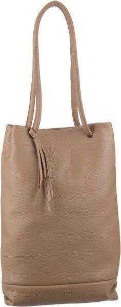 Jost Handtasche »Vika 1962 Zugbeutel« für 189,00€. Schultertasche, Leder, Innen ein Reißverschlussfach und 2 Einsteckfächer bei OTTO