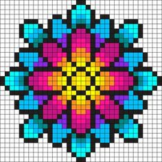 Something Wonderful Perler Bead Pattern / Bead Sprite
